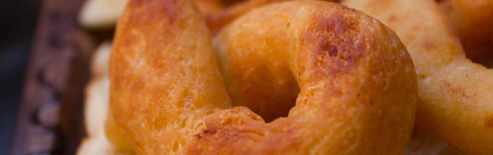 Anelli di patata e pecorino: i Gathulis