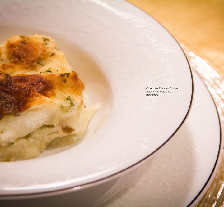 Zuppa gallurese cucinata da una campidanese